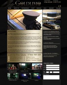 www.goldlimo.co.uk 01268 754 985 the UK's 1st stretch Gold Limousine. New Website launching NOW!!!!