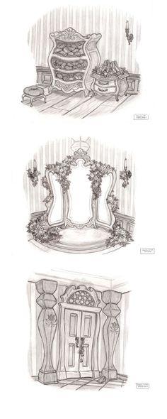 Artes de Scott Watanabe para o filme Tangled | THECAB - The Concept Art Blog