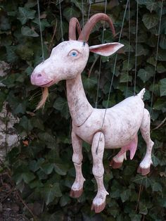 Sweet Goat.  Animal marionettes are a great addition to any production; and can actually be part of any show.