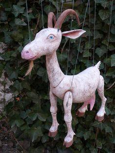 Billy Goat Marionette