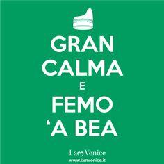 GRAN CALMA e FEMO 'A BEA