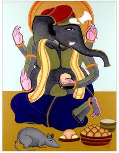 Thota_Vaikuntam___Untitled_Ganesha_39_x_295_in_acrylic_on_canvas_2012_figurative_painting.png (300×388)