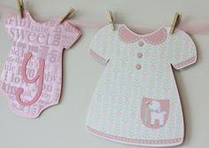 Baby Girl Shower Banner
