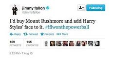 Jimmy Fallon needs to win the Powerball. End of. -E