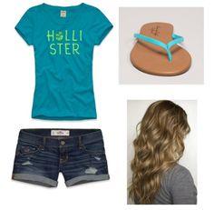 Cute Hollister summer outfit