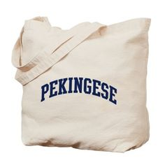 Pekingese Tote Bag on CafePress.com