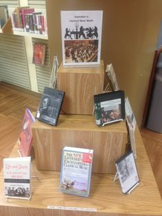 Classical Music Month Display (2014)