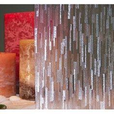 Gila 36 In W X 78 In L Mosaic Privacy Decorative Static