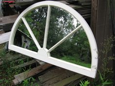 Arched  Palladium Window Mirror  French Country Cottage - would love in my dining room