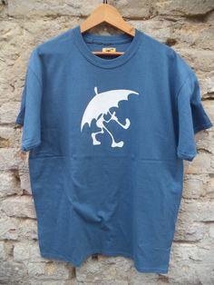 Rain man sky blue short sleeve T-shirt Blue Shorts, Rain, Bike, Trending Outfits, Sleeve, Mens Tops, T Shirt, Grey, Fashion