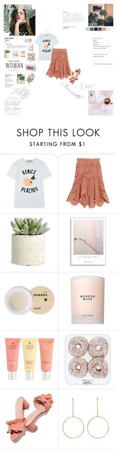 """Always do what you love, never settle."" by sarahstardom ❤ liked on Polyvore featuring Zephyr, Être Cécile, Zimmermann, Allstate Floral, Korres, Estée Lauder, Molton Brown, Loeffler Randall, Kenneth Jay Lane and CO"