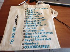 Shopping bag voor citytrip naar Londen