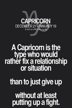 This has probably caused me more pain than it's ever worth, but I can't help it..... #Capricorn