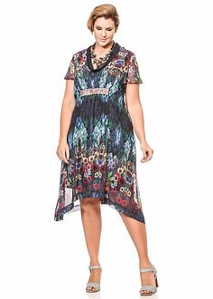 Plus Size Dresses Online | Dresses - Plus Size, Large Size Dresses for Australian Women - WATERGARDEN DRESS - TS14