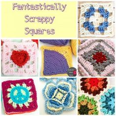 Free Crochet Motif Patterns #crochet