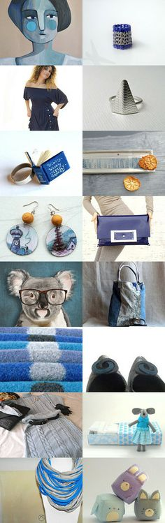 falling in love with blue and gray by Giulia Hensemberger on Etsy--Pinned with TreasuryPin.com