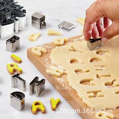 26 Pieces Stainless Steel Letter / Alphabet Cookie Cutters  $23.99  Free Shipping worldwide if you like it share it with your friends ! Link in BIO section ! #kitchen #home #sweethome #cooking #sushi #lunchbox #baking #dinner #cookie #cookbook #kitchenaid #kitchenware #kitchentools #mykitchen #souleater #goodeats #eatwell #eatrealfood #eatstagram