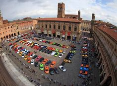 Bologna, last year. I was there for this Lambourghini convention!