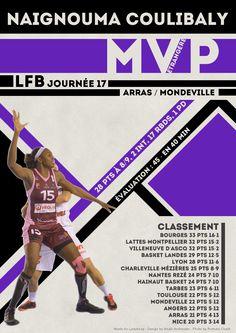 Naignouma Coulibaly - MVP Etrangère - LFB Journée #17