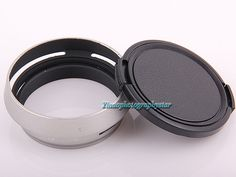 Silver 49mm Lens Adapter Ring Metal Lens Hood Lens cap for Fujifilm Fuji X100 X100s X100T. Click visit to buy #lenses #accessories