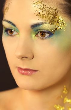 Gold make up by White Devil Picture