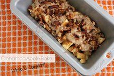 Cinnamon Apple Bake a Whole30 Breakfast