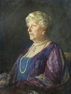 Princess Beatrice, daughter of Queen Victoria By Arthur Stockdale Cope Oil on canvas, 1928