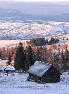 Ukraine. Carpathian Mountains , from Iryna