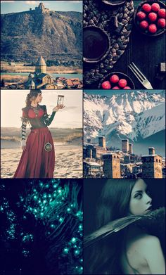 """"""" Literature Aesthetic: - The Shashavani + Georgian Country The Ouroboros Cycle Series by G.D. Falksen """""""