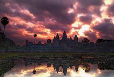 Angkor Watt Sunrise - Siem Reap, Cambodia