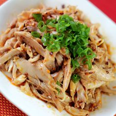 Hand-Shredded Chicken Leg