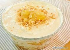 Aprenda a preparar pavê de abacaxi com biscoito champanhe com esta excelente e fácil receita. O pavê de abacaxi é uma das sobremesas geladas mais gostosas e populare...