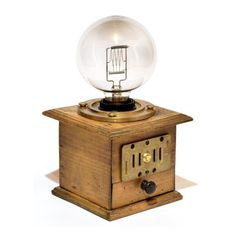 "Steampunk Lampe ""Auge des Ra"""