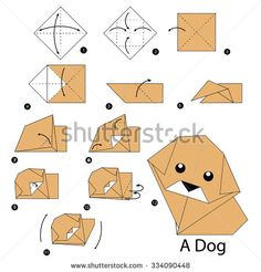 Geometric Dog Stock Illustrations Cartoons