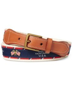 POLO RALPH LAUREN Polo Ralph Lauren Men'S Webbed Belt. #poloralphlauren # belts