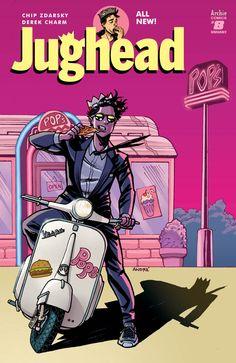 JUGHEAD #8 (2016) variant cover by Walt Simonson, Laura Martin