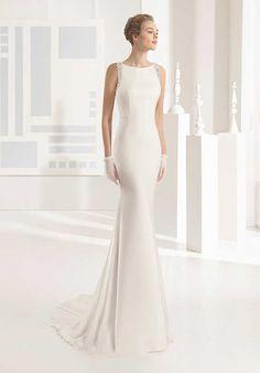Rosa Clará Nika Sheath Wedding Dress