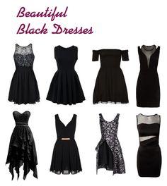 """Beautiful Black Dresses"" by sammi-mo ❤ liked on Polyvore featuring Ally Fashion, Chicnova Fashion, Morgan, Mela Loves London and STELLA McCARTNEY"