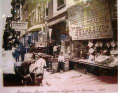 Delancey Street in 1908