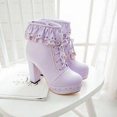 Bottes Violette - Lolita