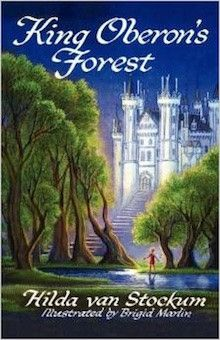 """King Oberon's Forest"" is the only fairy tale written by famed children's book author, Hilda van Stockum, and includes illustrations by artist Brigid Marlin, the author's daughter. First published in 1957, the book has a magical quality. It is notable as having been commended by none other than Eleanor Roosevelt in a letter that is reprinted in this 2012 edition."