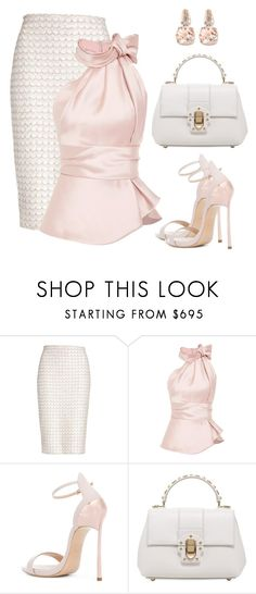 """Untitled #1610"" by gallant81 ❤ liked on Polyvore featuring St. John, Casadei, Dolce&Gabbana and BillyTheTree"