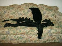 Toothless How To Train Your Dragon Black Dragon Halloween Costume 1-6 | PrecisionStitching - Clothing on ArtFire