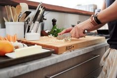 Peter Som and Athena Calderone cooking crispy Salmon fillets with citrus bagna cauda sauce and microgreen salad Home Meals, Love Eat, Breakfast For Dinner, Stay At Home, Health Tips, Nyc, Kitchen, Recipes, Salmon Fillets