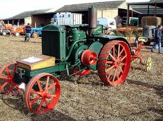 Old Sauderson tractor