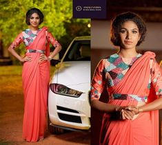 trendy Ideas for style clothes classy belts Unique Dresses, Trendy Dresses, Formal Dresses, Formal Saree, Wedding Dresses, Saree Blouse Designs, Blouse Patterns, Classy Gowns, Modern Saree