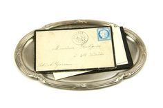 Antique french desk tray, trinket tray. Ovall Art Deco metal decorative plate It is made of silver plated brass.  Date: 1930s Size: approx. 12 x 18 cm or 4 1/2 x 6 1/2 Good antique condition. Any major faults will be described, but minor signs of wear and tear are to be expected in any old item.  This item will be very carefully packaged and sent from France by priority airmail.  If you have any question please feel free of convo me, I am happy to assist you.  Browse our entire sho...