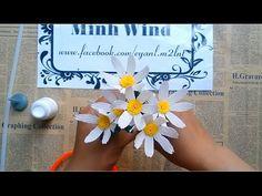 Miniature rose paper flower tutorial - Hoa hồng tỉ muội - YouTube