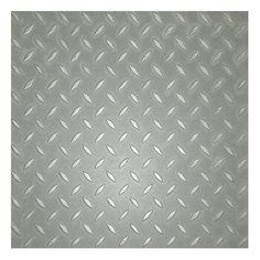 Metroflor Metro Design Textured Metallic Tile Vinyl Tile in Silver Best Vinyl Flooring, Metal Floor, Texture Design, Paint Colors, Household, Silver, Room Ideas, Metallic, Essentials