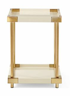 Brielle End Table | Lillian August #GISSLER #interiordesign